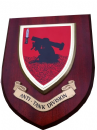 Anti Tank Regimental Military Wall Plaque Shield